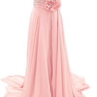 Dressystar Chiffon Evening Dress Formal Party Dress for Women