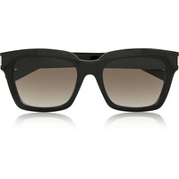 Saint Laurent - Bold square-frame acetate sunglasses