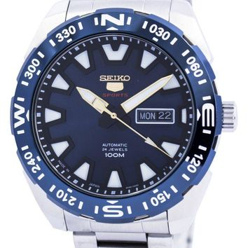 Seiko 5 Sports Automatic 24 Jewels Japan Made SRP747 SRP747J1 SRP747J Men's Watch