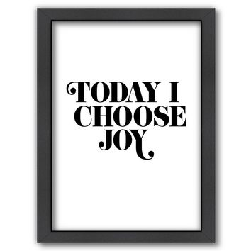 Americanflat ''Today I Choose Joy'' Framed Wall Art