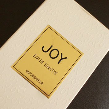 Vintage Joy by Jean Patou edt 45ml - 1.5fl.oz., ORIGINAL Version/Formula, New Bottle -- sprayed twice only!