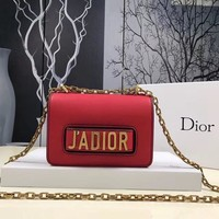 Dior J'ADIOR Women Shopping Bag Leather Chain Crossbody Shoulder Bag Satchel