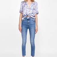 BROOME BLUE HIGH WAISTED JEANSDETAILS