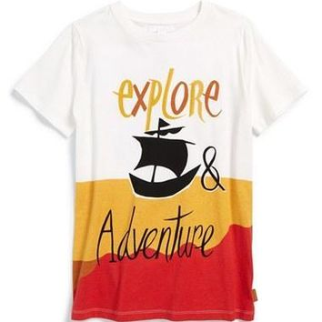 Boy's Burberry 'Explore & Adventure' Viking T-Shirt