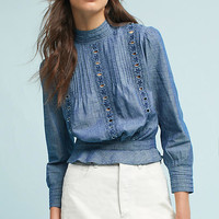 Citizens of Humanity Josie Chambray Blouse