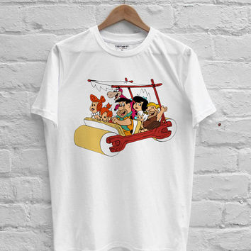 The Flintstones Characters T-shirt Men, Women Youth and Toddler