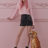 Candy Cable Knit Sweater