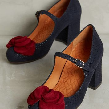 Chie Mihara Flower Mary Janes
