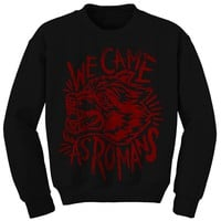 Wolf Scratch Black Crewneck : WCAR : MerchNOW - Your Favorite Band Merch, Music and More