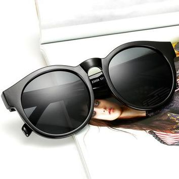 Fashion Round UV Protection Outdoor Running Riding Sunglasses
