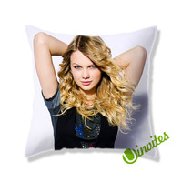 Taylor Swift Beautiful Square Pillow Cover