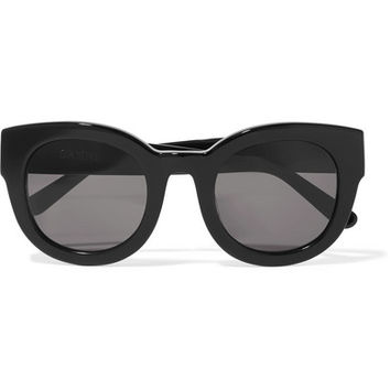 GANNI - Fay cat-eye acetate sunglasses