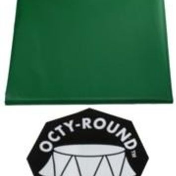 82in Green Round Heavy Duty Plastic Tablecovers