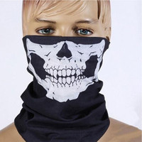 Motorcycle Skull Ghost Face Windproof Beanie Mask