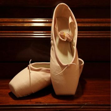 Kids Adult Girls Women's Ballet Toe Pointe Shoes Ladies Dance Training Shoes