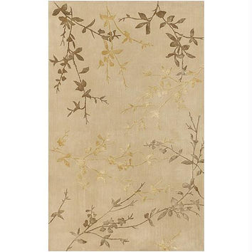 Area Throw Rug - Gold, Pale Gold, Mustard