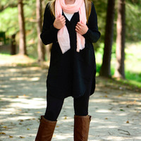 Keep Me Warm Cardigan, Black