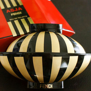 Vintage Asja by Fendi EDT 40ml-1.3fl.oz. DISCONTINUED & RARE! Limited Edition Bottle!