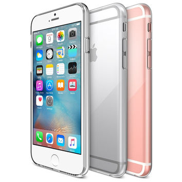 The Crystal Clear Ultra thin Liquid Gel Skin Case for the iPhone 6/6s