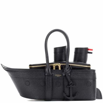 Cruise Liner leather handbag