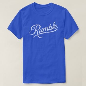 Anthony Rumble Johnson Walkout Distressed T Shirt