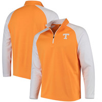 Men's Colosseum Tennessee Orange Tennessee Volunteers Setter Quarter-Zip Pullover Jacket