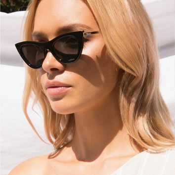 Le Spec Enchantress Sunglasses Black