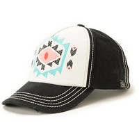 Billabong By Choice Black Print Snapback Hat