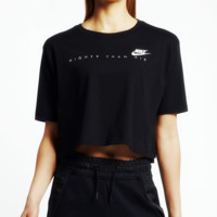 Nike: Originals Short-Sleeve Cropped Top