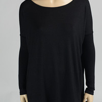 Black Piko Top