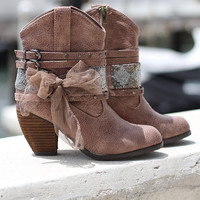Brown Legacy Booties