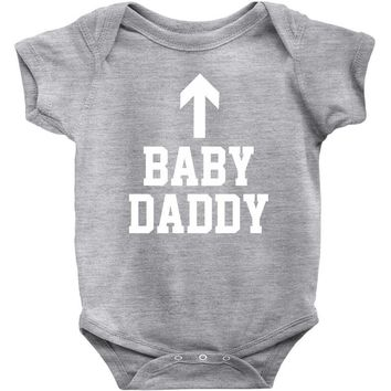baby daddy funny new Baby Onesuit