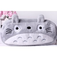 Totoro Cute Plush Pencil/pen Bag Pouch