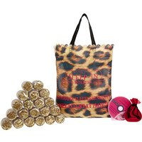 Leopard print sleep-in rollers set - beauty / fragrance - gifts - women