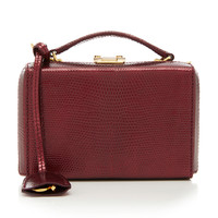 Mini Grace Lizard Box Bag | Moda Operandi