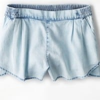 's Chambray Soft Short (Cloud Wash)