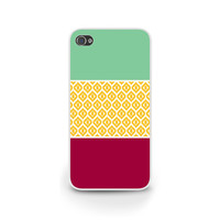 Autumn Inspired Phone Case, iPhone 6 Case, Galaxy S5 Case, Samsung Galaxy S4 Case, Maroon, Teal, Mustard, Unique Phone Cover - 0032