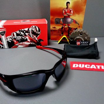 Oakley SCALPEL DUCATI STONER Rare Moto GP Squared Monsterdog Pitbull Jacket X WM
