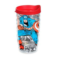 Tervis® Marvel® Captain America 10 oz. Wavy Wrap Tumbler with Lid