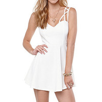 Rehab Caged Fit N Flare Dress at PacSun.com