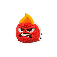 Anger ''Tsum Tsum'' Plush - Inside Out - Mini - 3 1/2''
