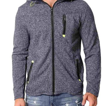 Men's Warm Full Zip Up Fleece Hoodies