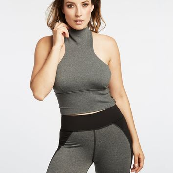 Michi Extension Crop Top - Grey