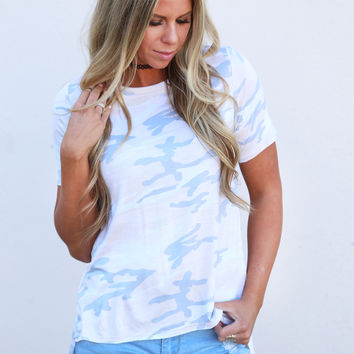 Color Me Camo Top {Khaki}