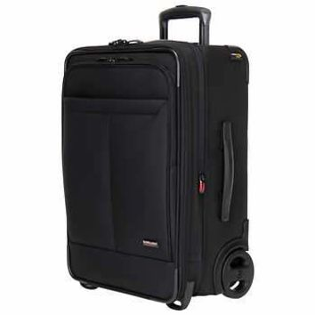 "Kirkland Signature Softside 22"" 2 Wheel Carry-On Suitcase. Limited Time Offer. Brand New"