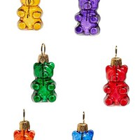 Women's Nordstrom at Home Mini Bear Ornaments (Set of 6)