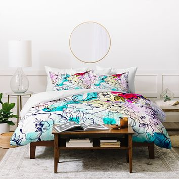Holly Sharpe Spring Haze Duvet Cover