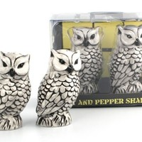 Owl - Salt & Pepper Shakers