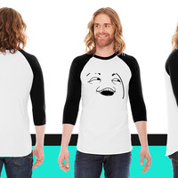 I see what you did there American Apparel Unisex 3/4 Sleeve T-Shirt