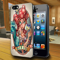 Ariel Siren Zombie - Print on Hard Cover For iPhone 4/4S and iPhone 5 Case - Please Leave Message For Device And Colour Case